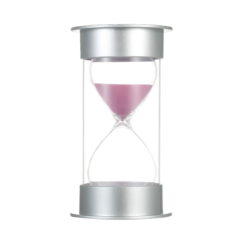 Buy 30 Minutes Hourglass Sandglass Sand Timer Decoration Kitchen Office Game Christmas Birthday Gift(30Min Pink)