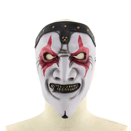 Buy Latex Horror Zipper Mouth Zombie Mask Scary Full Head Masks Halloween Masquerade Costume
