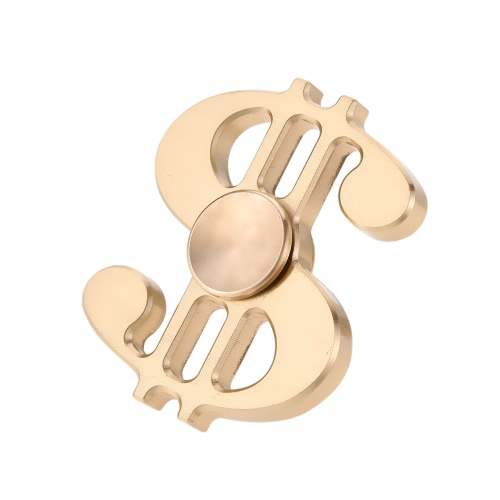 Buy Music Note Shape Brass Spinner Time Killer Dollar Sign Focus Anxiety Stress Reducer Ultra Durable High Speed EDC ADHD Autism