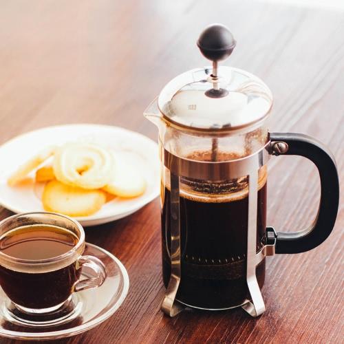 350ml acciaio inossidabile francese pressione pentola 3-cup caffettiera tazza di caffè tazza di tè macchina da caffè tè Maker