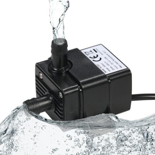 Buy Decdeal Mini DC12V 4.8W Micro Brushless Water Oil Pump Waterproof Submersible Aquarium Circulating 240L/H Lift 300cm