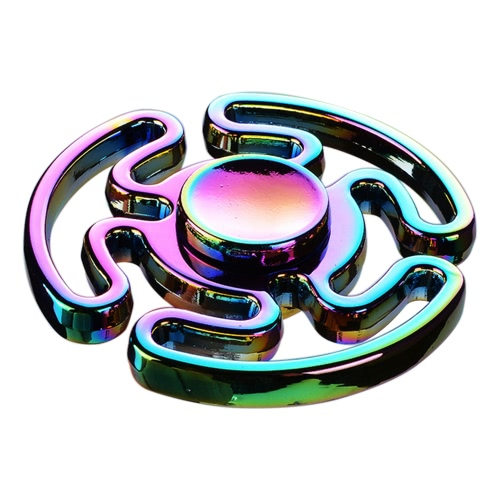 Buy Hand Finger Labyrinth Round Spinner Fidget Bearing Focus Stress Reducer Portable Gyro Toy Fidgeters Anxiety ADHD ADD Kids Adults
