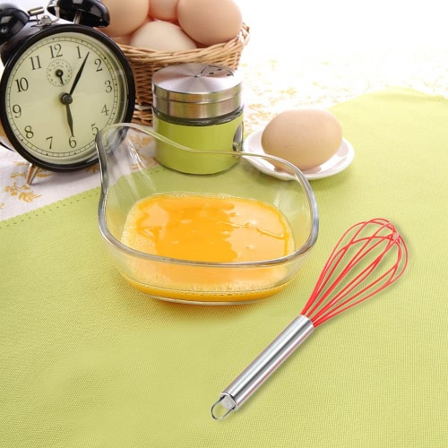 High Quality 5pcs Silicone Baking Set Hygienic Kitchen Cooking Tools Utensils Whisk Basting Brush Spatulas Turner