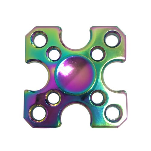 Buy Hand Finger Labyrinth Square Spinner Fidget Bearing Focus Stress Reducer Portable Gyro Toy Fidgeters Anxiety ADHD ADD Kids Adults
