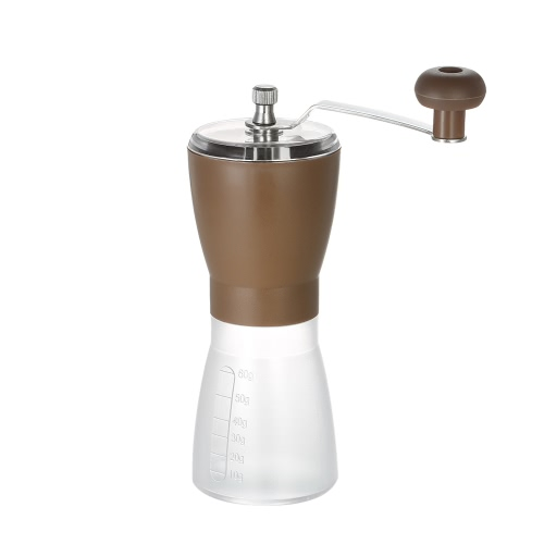 Buy Portable Manual Coffee Bean Grinder Handy Ceramic Mill Home Office Travel Use