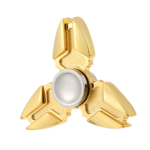 Buy Hot Mini Premium Metal Zinc Alloy Tri Fidget Hand Finger Spinner Spin Triangle Widget Focus Toy EDC Pocket Desktoy Gift ADHD Children Adults Relieve Stress Anxiety