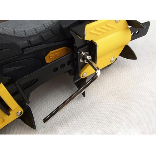 Strap Type Crampons Ski Belt High Altitude Hiking Slip-resistant 10 Crampon