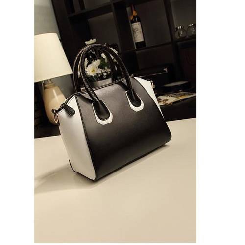 Buy Fashion Lady Women's Handbag Smile Face Tote Bag Shoulder Satchel Messenger Crossbody Black