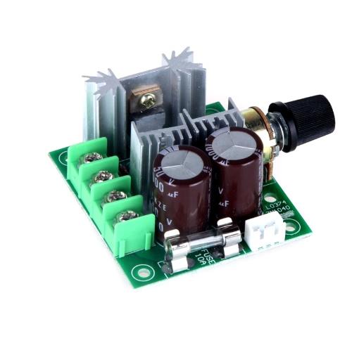 Buy 12V-40V 10A Pulse Width Modulation PWM DC Motor Speed Control Switch 13KHz