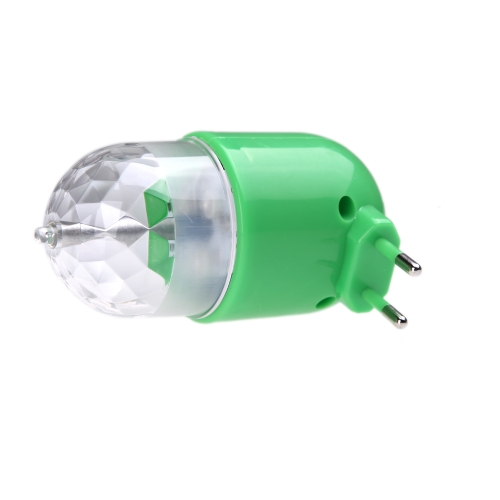 Buy LED Rotating Full Color Lamp Colorful Light Rotate RGB Bulb DJ Party Stage Crystal On/Off Button 3W 85 - 260V
