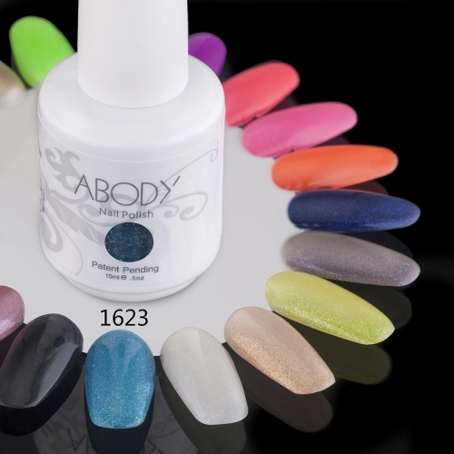 Buy Abody 15ml Soak Nail Gel Polish Art Professional Shellac Lacquer Manicure UV Lamp & LED 177 Colors 1623