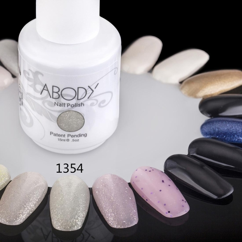 Buy Abody 15ml Soak Nail Gel Polish Art Professional Lacquer Manicure UV Lamp & LED 177 Colors 1354