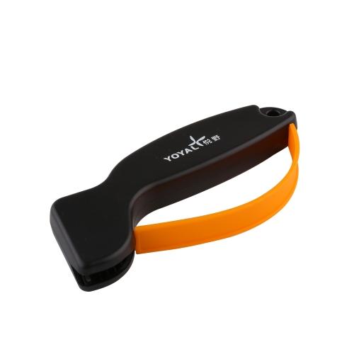 TAIDEA Pocket  Sharpener Carbide Household Handhled Sharpening Stone for  Kitchen Knives Tool Black