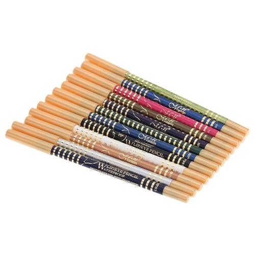 Buy 12 Colors/Set Magic Cosmetics Makeup Pen Waterproof Eyeshadow Eye Liner Lip Eyeliner Pencil