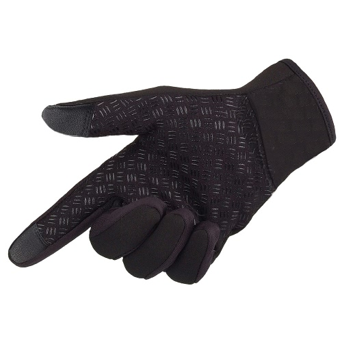 Snowboard Skiing Riding Cycling Bike Sports Gloves Outdoor Windproof Winter Thermal Warm Touch Screen Silicone Palm Unisex M от Tomtop.com INT