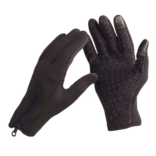 Snowboard Skiing Riding Cycling Bike Sports Gloves Outdoor Windproof Winter Thermal Warm Touch Screen Silicone Palm Unisex S от Tomtop.com INT