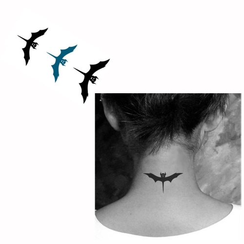 Buy Tattoo Sticker Bats Pattern Waterproof Temporary Tattooing Paper Body Art