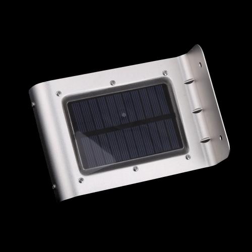 Buy 16 LED Solar Power Light Sound Motion Sensor Powered Lamp Energy Saving Wall Garden Yard Street Outdoor Lighting