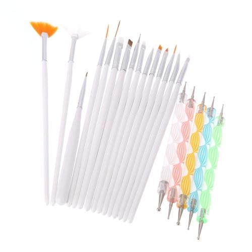 Buy 2Nail Art Design Painting Dotting Detailing Pen Brushes Bundle Tool Kit Set