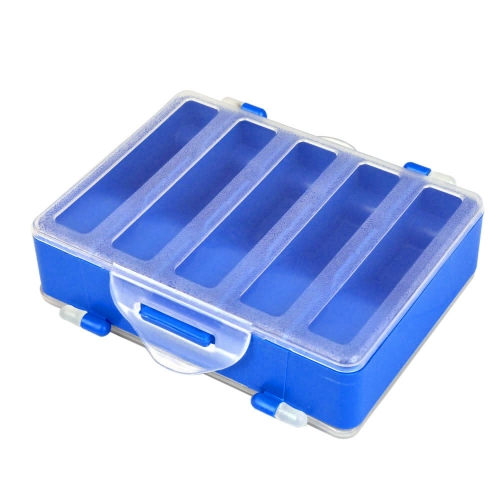 12.8 * 10 * 3.7cm Double Sided Transparent Visible Plastic Fishing Explosion Hook Set Box 10 Compartments от Tomtop.com INT