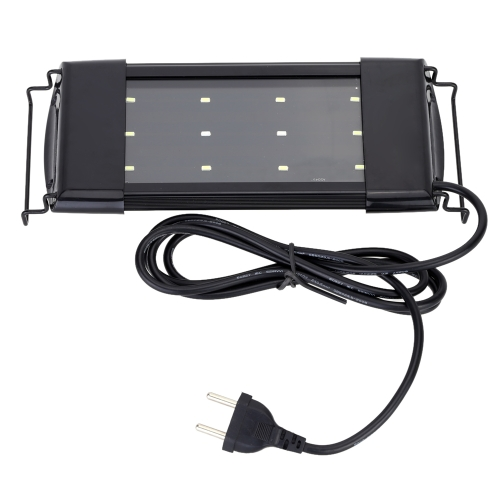 Aquarium Fish Tank SMD LED Lamp with Adjustable Bracket Bright White+Blue Color Light Lighting Decoration Accessory 6W от Tomtop.com INT