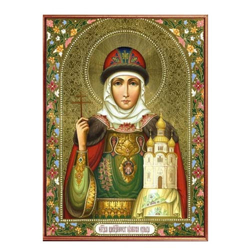 DIY Handmade Diamond Painting Set Religious Figure Resin Rhinestone Pasted Cross Stitch for Home Decoration 30*40cm от Tomtop.com INT
