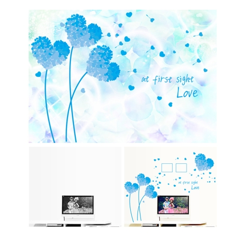 Buy Removable Wall Decal Sticker Beautiful Love Dandelion DIY Wallpaper Art Decals Mural Room Decoration 50 * 70cm