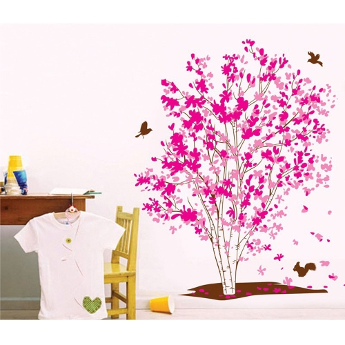Buy Removable Wall Decal Sticker Beautiful Tree DIY Wallpaper Art Decals Mural Room Decoration 60 * 90cm