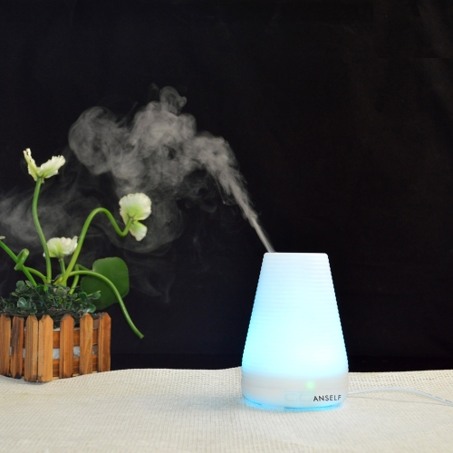 Buy Anself 100ml Ultrasonic Air Humidifier Aroma Diffuser Fragrance Sprayer Office Purifier Mist Maker Colorful LED Light AC100-240V