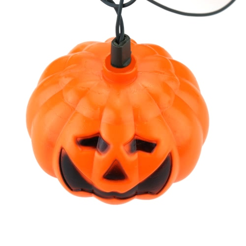 Buy 1Pumpkin Lamp Wonderful Jack-O-Lantern Lights Excellent Led String Light Decorated Production Halloween