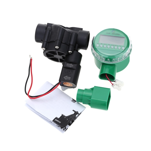 Solenoid Valve Garden Water Timers Electromagnetic Valve Timer Battery Operated Garden Irrigation Controller Home Intelligent Watering Device Practical Irrigation Timers with 3/4-Inch Valve от Tomtop.com INT