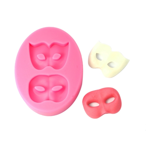 Anself MJ-SM-213 Silicone Mold Cake Cupcake Decoration Beautiful Fondant Chocolate Baking Mould Mask Pattern Mat