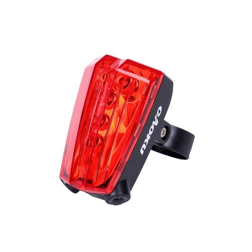 Buy Bicycle Laser Tail Light Rechargeable Bike Rear LED Taillight 5 2 Beams