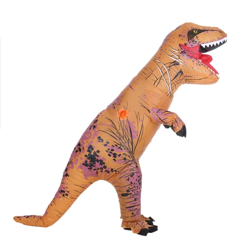 Buy Funny Kids Inflatable Dinosaur Trex Costume Suit Air Fan Operated Blow Halloween Cosplay Fancy Dress Animal Jumpsuit