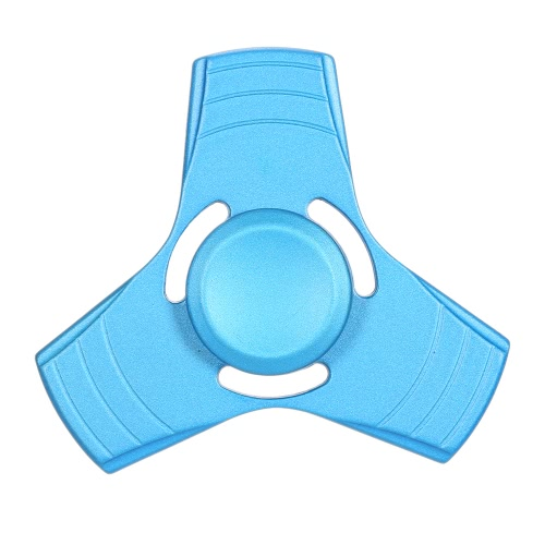 Buy Metal Zinc Alloy Mini Tri Fidget Hand Finger Spinner Spin Widget Focus Toy EDC Pocket Desktoy Triangle Gift ADHD Children Adults Relieve Stress Anxiety Boredom