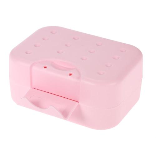 Buy Portable Soap Stand Holder Adorable Seal Box Lock Practical Travel Dish Draining Sponge