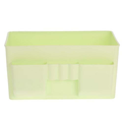 Buy Fashion Multi-use Cosmetic Bathroom Organizer Storage Box Drawer Plastic Makeup Container