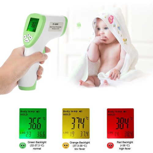 Digital LCD Non-contact IR Infrared Thermometer Forehead Body Surface Temperature Measurement Data Hold Function от Tomtop.com INT
