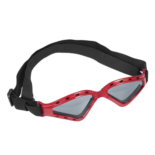 New Fashion Foldable Pet Goggles Large Dog Eye Protector Waterproof Sunglasses Anti-Fog Anti-wind Glasses Skiing Sun UV Protection Safety Goggles with Removable Washable Straps For Dogs