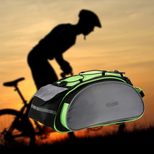 Buy ROSWHEEL 13L Multifunctional Bicycle Rear Seat Bag Outdoor Cycling Bike Rack Trunk Pannier Backseat Handbag Shoulder