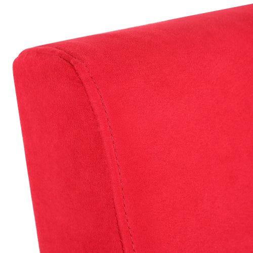 """Microfiber Futon 6"""" Mattress Folding Couch Sofa Day Bed Sleeper Recliner Lounger Red"""
