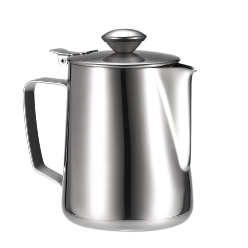 Stainless Steel Milk Frothing Pitcher Milk Foam Container Milk Cup Espresso Measuring Cups Coffe Appliance