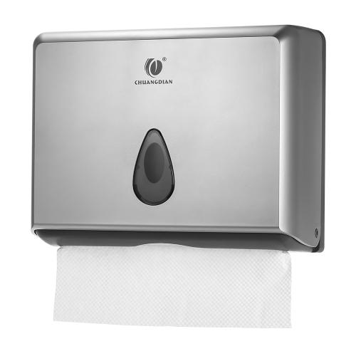 Buy CHUANGDIAN Wall-mounted Bathroom Tissue Dispenser Box Holder Multifold Paper Towels