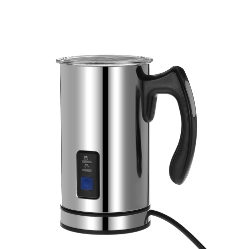 Homgeek Stainless Steel Automatic Electric Milk Frother Foamer Frothing & Heating Milk Warmer Foam Maker Latte Cappuccino Home Kitchen Use от Tomtop.com INT