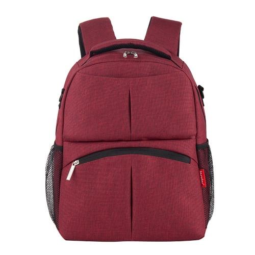 Insular Multifunctional Large Capacity Mommy Bag Shoulders Bag With Shoulder Strap Durable Backpack Diaper Bag For Mom Baby Shower Gift