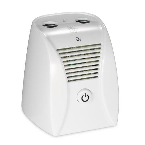 2 in 1 Ozone and Negative Ions Air Purifier Portable Ozone Generator Mini Air Ionizer Odor Remover Deodorizer EP202