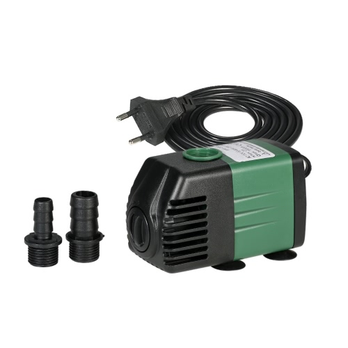 Buy 1500L/H 25W Submersible Water Pump Aquarium Tabletop Fountains Pond Gardens Hydroponic Systems 2 Nozzles AC110V