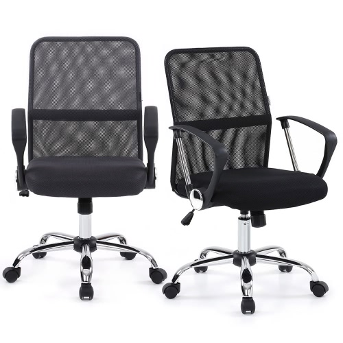 Buy iKayaa Ergonomic Adjustable Mesh Office Executive Chair Stool 360u00b0Swivel Computer Task Furniture SGS Intertek Testing Report
