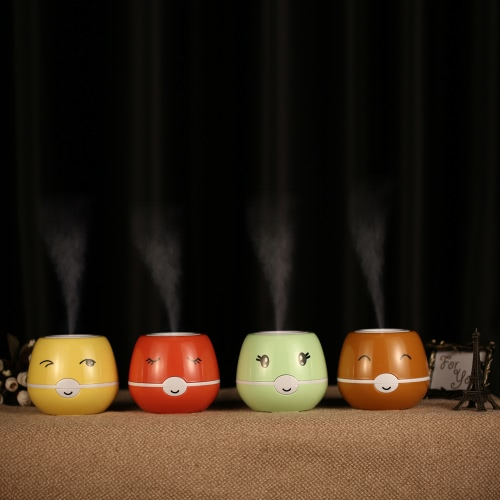 USB DC 5V Cute Ultrasonic Humidifier Air Purifier Mist Maker Fogger for Home Office Use
