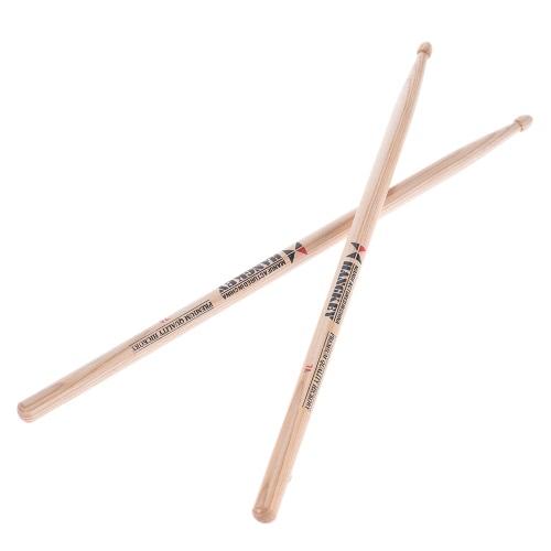 Buy Pair 7A Drumsticks Stick Drum Set Lightweight American Pecan-wood Burlywood